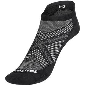 Smartwool Run Zero Cushion Low Ankle Socks, nero
